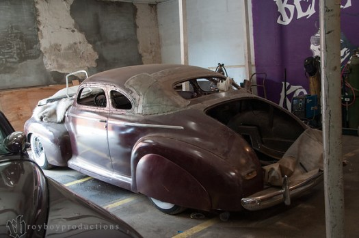This 41 Chevy used to belong to a friend of mine in Texas and after passing through a couple of hands is now in Johnny