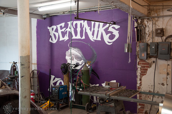 Johnny is a member of the legendary Beatniks club.