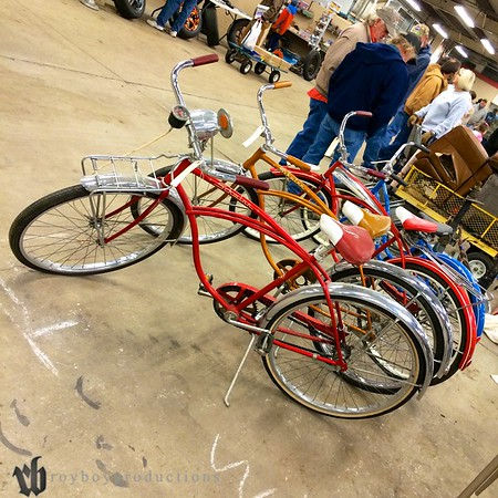 And even more bikes.