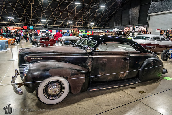 1940; 2017; CA; California; Coupe; GNRS; Grand National Roadster Show; Paul Gauvry; Pomona; mercury 1940 Mercury coupe owned by Paul Gauvry