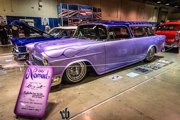 2017; GNRS; Saturday; 270; 1955; CA; California; Chevy; Grand National Roadster Show; Lee Pratt; Nomad; Pomona; chevrolet 1955 Chevrolet Nomad owned by Lee Pratt