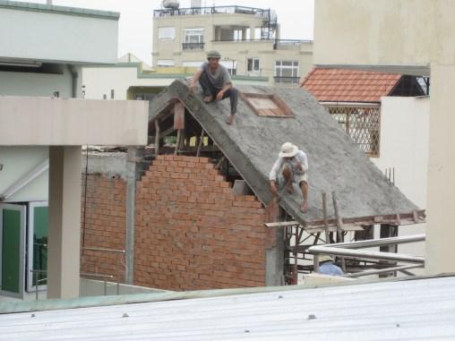 Vietnam concrete roof