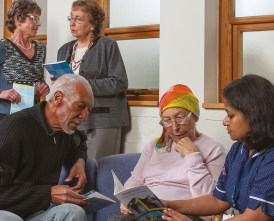 Lung cancer support groups