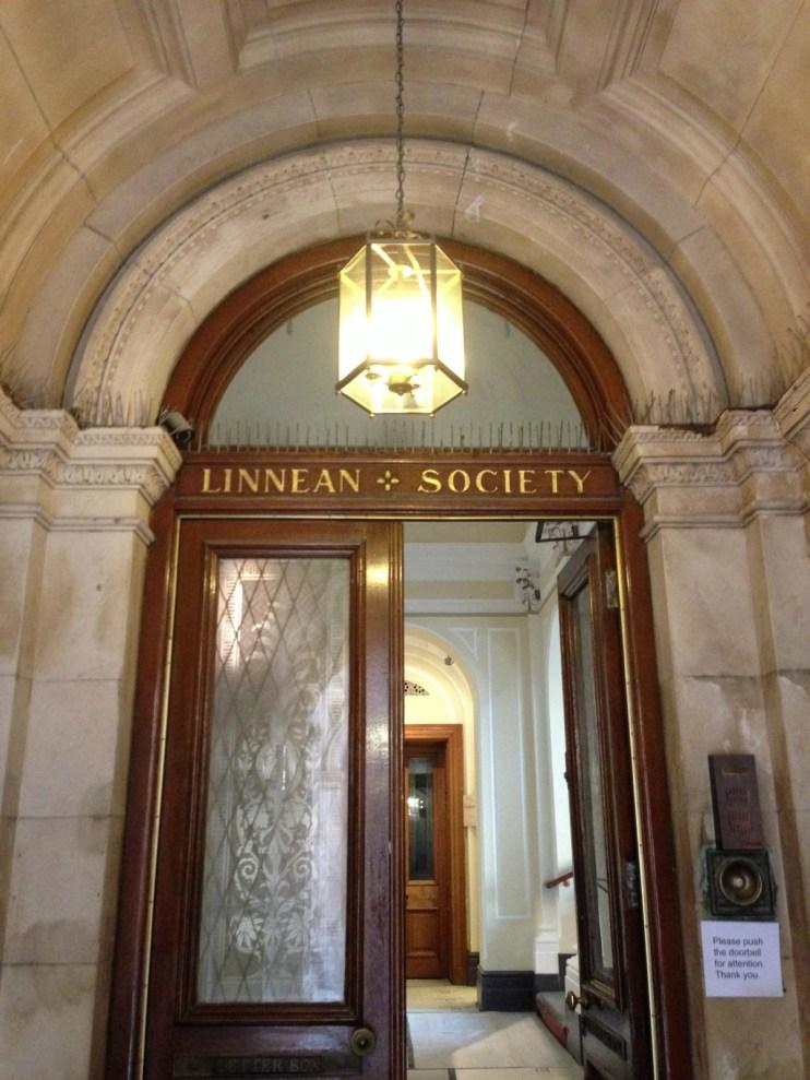 main entrance, Linnean Society of London