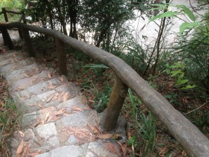Fancy Staircase for Hikers
