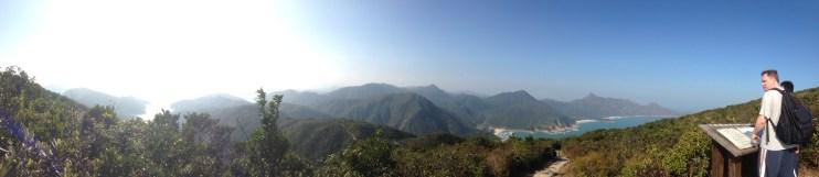 Panoramic View from Sai Wan Shan