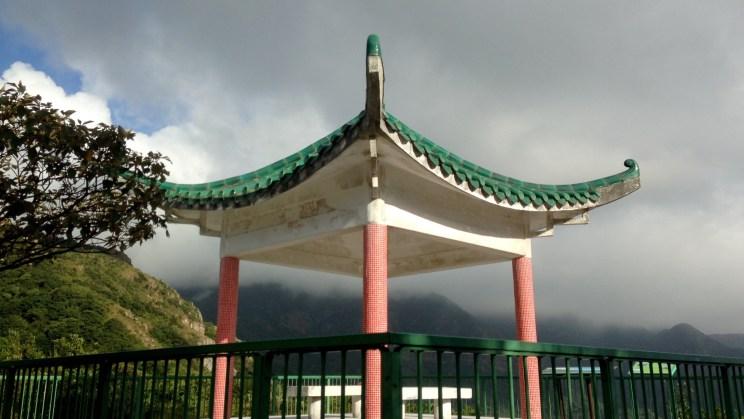 Pavilion at Tai Fung Au, Stage 4, Lantau Trail