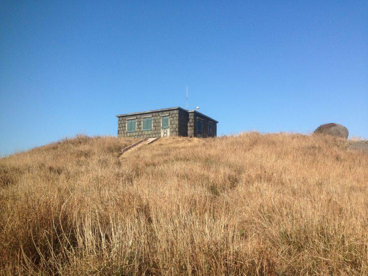 Stone shacks