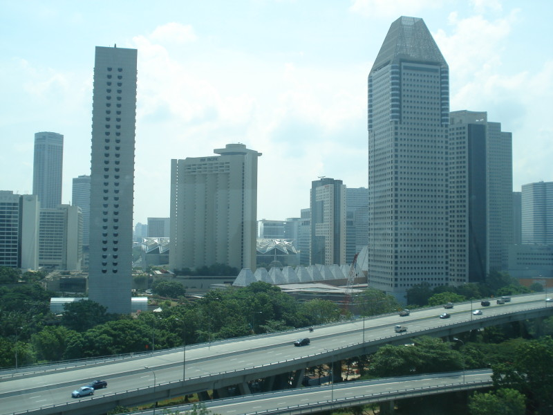 From Singapore Flyer