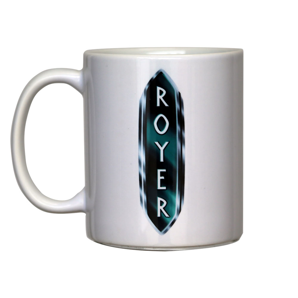 Royer White Mug