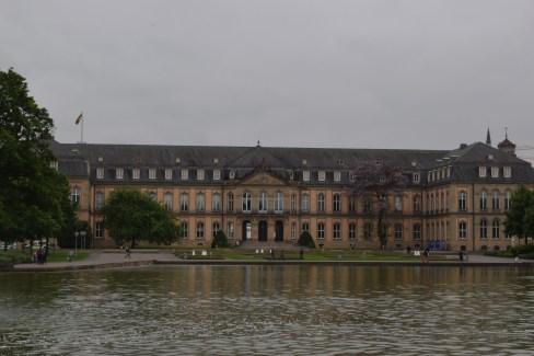 Schlossplatz. Stuttgart, Germany