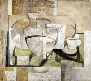 Ben Nicholson. 1931-1936 (still life - Greek landscape); British . art classes for beginners, bluecoat, liverpool, merseyside