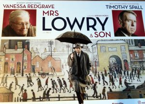 A recently released film, on the artist L S Lowry. About his relationship with his mother. art classes merseyside