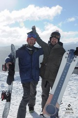 Roy Jr and Alex Orbison in Vail Snowboarding!