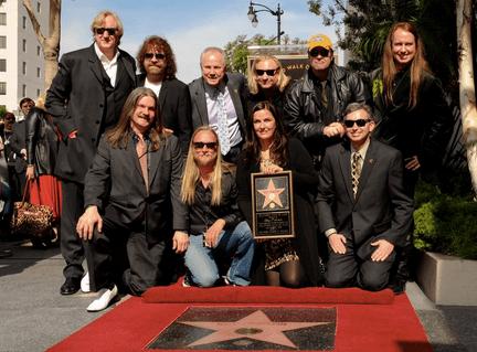 Jan 29, 2010. Roy Orbison's Hollywood Walk Of Fame Star (Barbara, Alex, Wesley, Roy Jr, T Bone Burnett Jeff Lynne, Joe Walsh, Dan Akroyd)