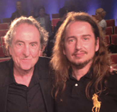 Eric Idle (of Monty Python) and Me Roy Orbison Jr