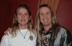 Roy Orbison Jr & Iron Maiden's Nicko McBain