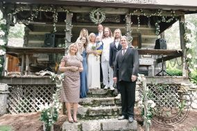 From left to right: Eva Kristina (Asa's Mother), Emily Orbison (Wesley's daughter), Erika Orbison (Alex's wife), Ana Cristina Cash ( John Carter's wife), Asa Orbison (the bride, my wife), Roy Orbison 3 (Asa & my baby son), John Carter Cash, Roy Orbison Jr (the groom), Alex Orbison, Wesley Orbison.