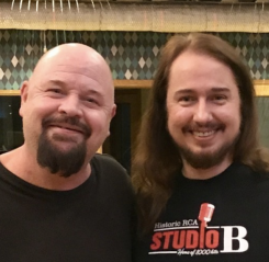 Spent the afternoon with my buddy Anders Bagge and got to check out his amazing studio Baggpipe Studios! 🎸😎 Anders Bagge is one of the best composers and record producers from Sweden and is a judge in Swedish TV4 Idol ! Good to see you Anders!