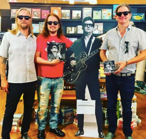 """""""Wesley, Roy Jr., and Alex Orbison work tirelessly to protect and further their father's legacy. Wesley, the eldest, is a seasoned songwriter and guitar player. His song """"The Only One"""" (co-written with Craig Wiseman) appears on Roy Orbison's multi-platinum album Mystery Girl. Roy Jr. is a singer and guitar player who works out of his own professional recording studio, the Pretty Woman Studio. He enjoys spending time with his beautiful bride and their son, Roy Orbison III. Alex, a drummer by trade, began his career in music publishing at the age of seventeen. As co-president of Still Working Music, along with his brother Roy, Alex has overseen several Top Ten songs and Number One hits. All three brothers reside with their families in Nashville. Jeff Slate is a songwriter and music journalist who regularly contributes to Esquire, Rolling Stone, and other publications. A lifelong fan of Roy Orbison, he recently contributed liner notes to The Ultimate Roy Orbison and the fiftieth-anniversary reissue of The Beatles' Sgt. Pepper's Lonely Hearts Club Band. He and his partner, Lynn, reside in New York City with their children."""" https://www.hachettebookgroup.biz/authors/roy-orbison-jr/"""