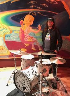 Roy Orbison Jr in Electric Lady Studios. (also known as Jimi Hendrix Studio)