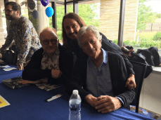 Me with Peter Asher and Jeremy Clyde at The Fest For Beatles Fans in Chicago 2018. Peter is from the duo band Peter & Gordon. Jeremy is from the duo band Chad and Jeremy.