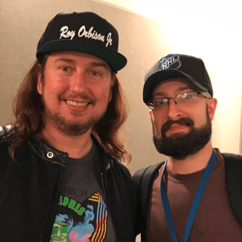 Listen to a new Appetite For Distortion with Brando podcast with me Roy Orbison Jr! Talking about Guns N' Roses!
