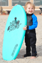 Roy Orbison Jr Family at the Beach in Malibu