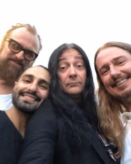 Johan Lindeberg, Arash Pournouri, Jonas Akerlund, Roy Orbison Jr