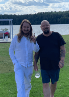 Happy Midsummer from Anders Bagge and Me!‬