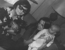 Roy Orbison, Barbara Orbison, Roy Orbison Jr)