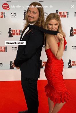 """Red Carpet last night at """"Pretty Woman The Musical"""" now in Hamburg!"""