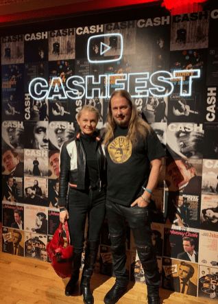 At the Johnny Cash Fest tonight!‬