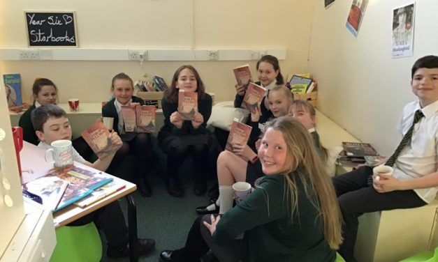 Our first Year Six Book Club is a huge success!