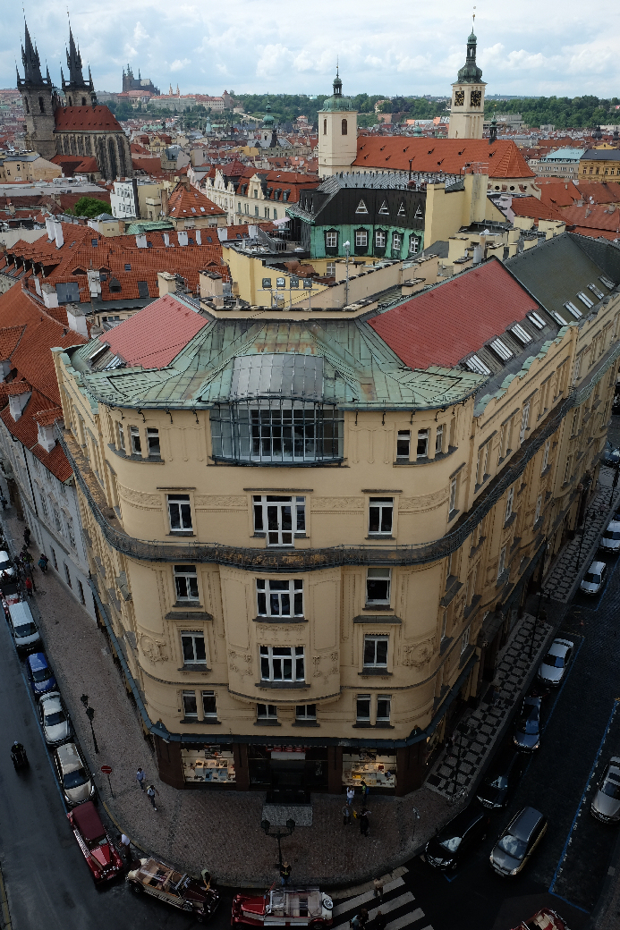 Prague from Powder Tower