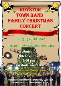 Royston Town Band Christmas 2016