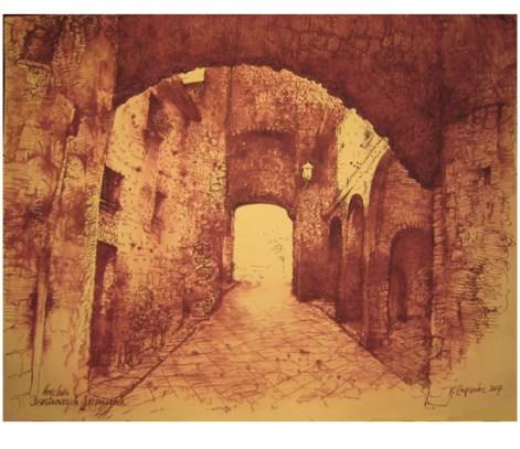 "Roy Superior, ""Castelnuovo Arches"""