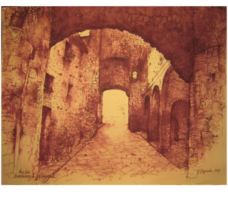 "Roy Superior, ""Castelnuovo Arches"""