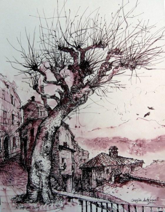 "Roy Superior, ""Coreglia Anteluinelli, Toscana, italia"" 2005"