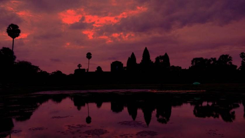 sun rise at angkor