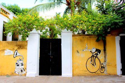 Walls Of Pondicherry