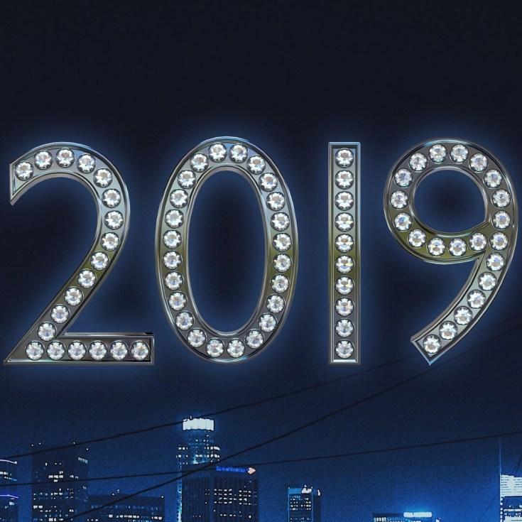 открытки на 2019 год скачать