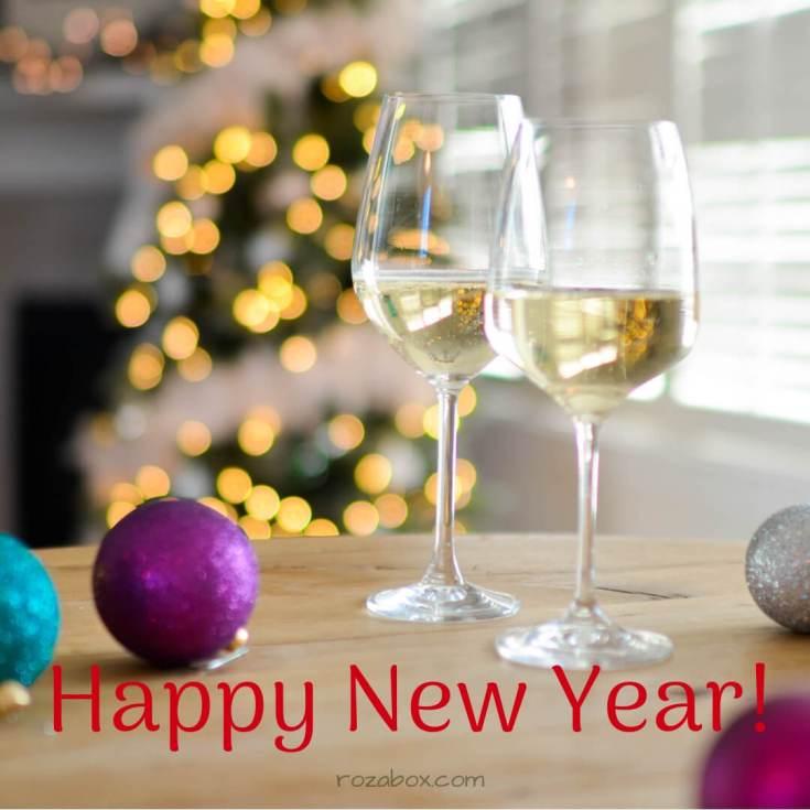 поздравительная открытка на новый 2019 год
