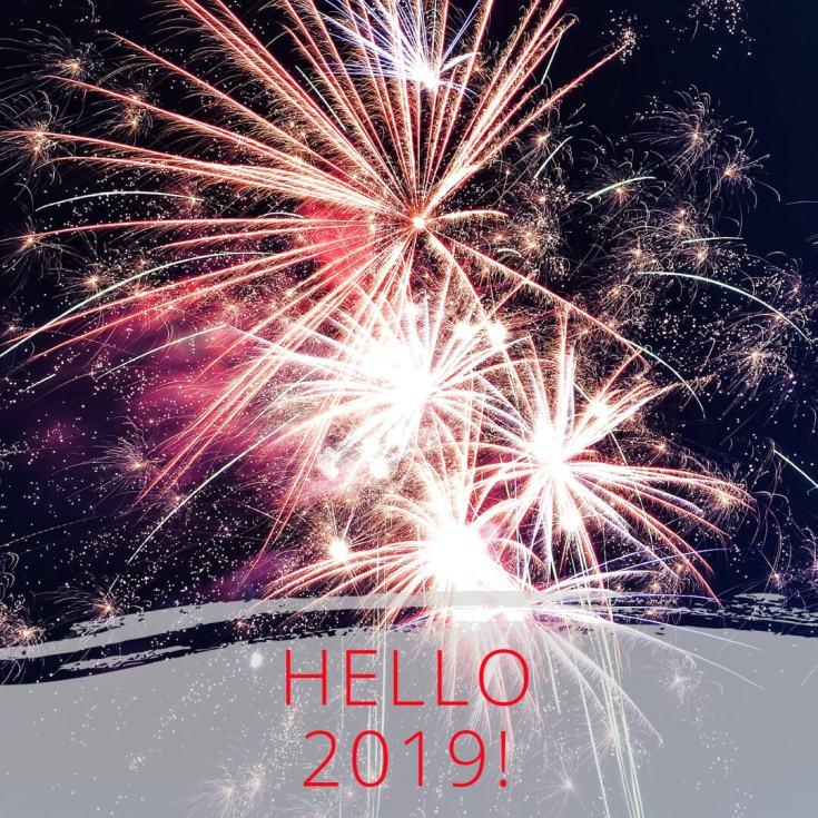 Здравствуй 2019 год картинки