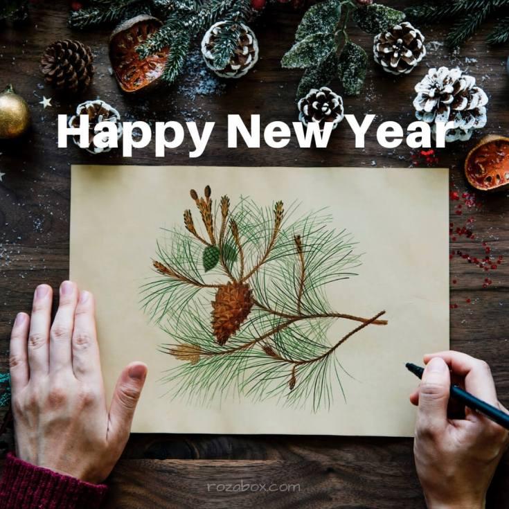 happy new year открытки