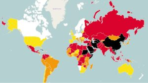Reportéři bez hranic: World Press Freedom Index 2015