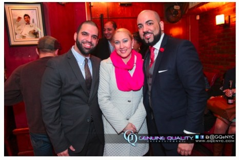 Mike, Ariel and N.Y. State Assembly Member for Washington Hts. Gabriela Rosa