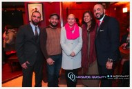 Event Coordinators, Owner of Papa Juan Cigar Room and special guest invite N.Y. State Assembly Member Gabriela Rosa