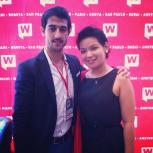 CEO of WebCongress Quali Benmeziane and Myself