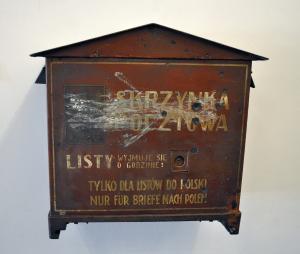 Skrzynka pocztowa Poczty Polskiej w WMG